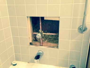 Replaced Shower Valve in Saratoga Springs, NY (1)